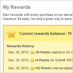 Customer Rewards for Shop a la Cart E-Commerce