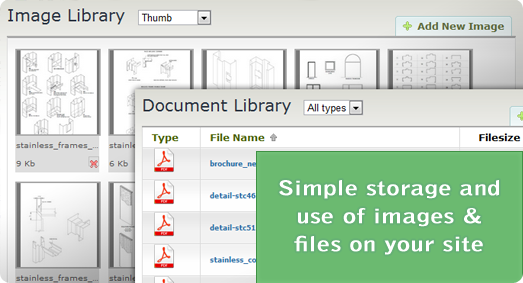 Image and document storage